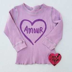 New Dirtee Hollywood Girls' Thermal  4T